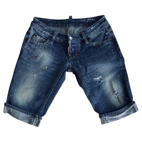 Dsquared2 Shorts Blau