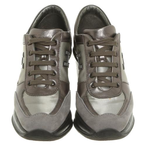 mode designer 86515 4e701 Hogan Chaussures compensées en Argenté - Acheter Hogan ...