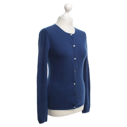 Allude giacca di cachemire in blu scuro