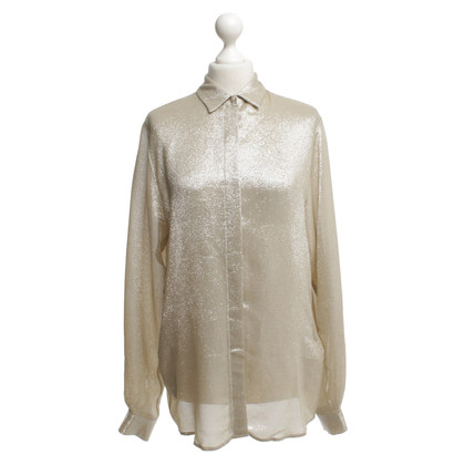 MSGM Blouse in gold