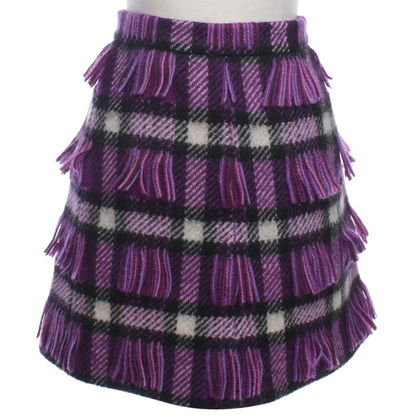Miu Miu Wool skirt with fringe