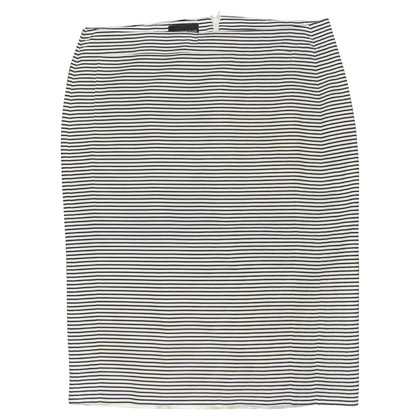 Armani skirt with stripe pattern