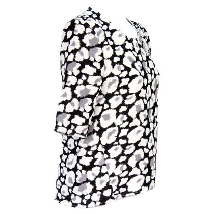 Whistles Blouse in Black / White