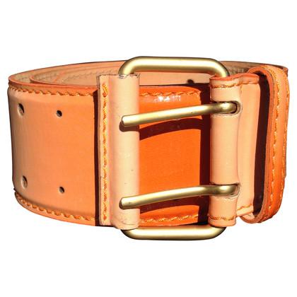 Schumacher Patent leather belt