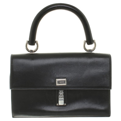 Ferre Leather bag in black