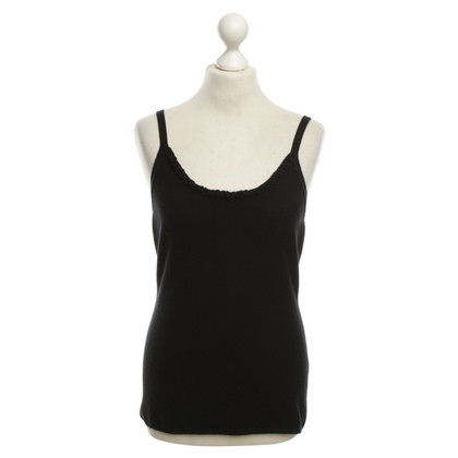 Allude Kasjmier top in zwart