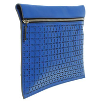Victoria Beckham clutch with cut outs