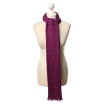 Gucci Guccissima scarf in purple