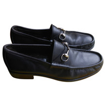 Gucci leather loafers
