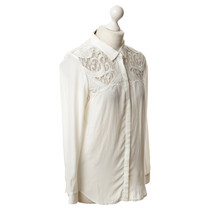 The Kooples Blouse with lace pattern