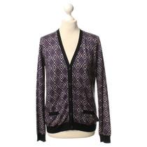 Prada Cardigan with diamond pattern