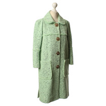 Mulberry Coat with metal fastener