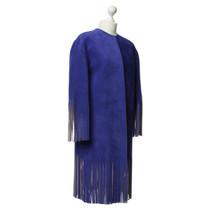 Céline Suede jacket in Royal Blue