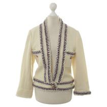 Chanel Cream-coloured short jacket