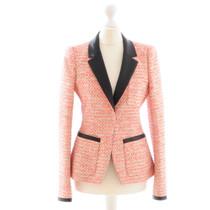Balenciaga Pink Boucle Blazer