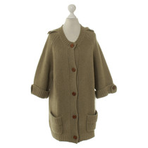 Chloé Cashmere Cardigan in olive
