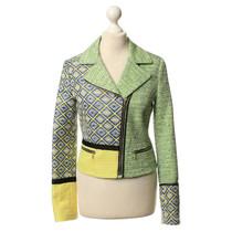 MSGM Short jacket with pattern mix